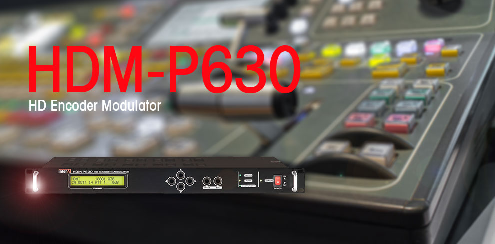 HDM-P630 HD Encoder Modulator