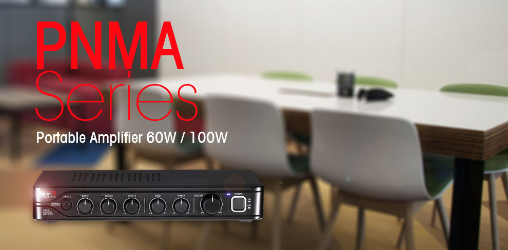 PNMA Series Portable Amplifier 60W / 100W